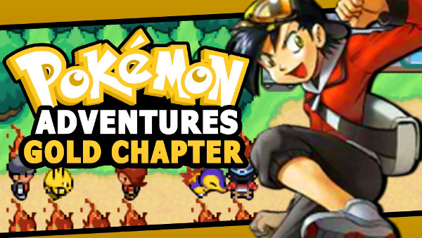 Image Pokemon Adventures Gold