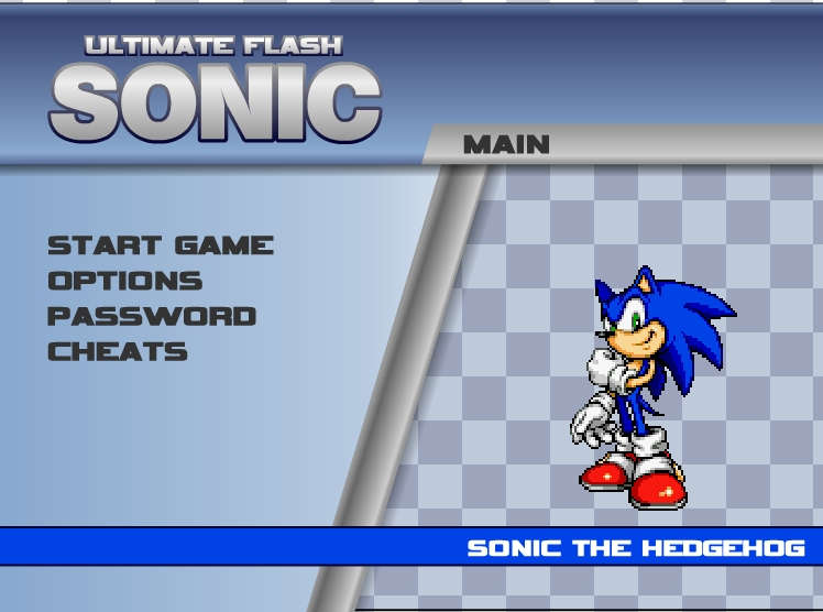 Sonic Flash Ultimate Online