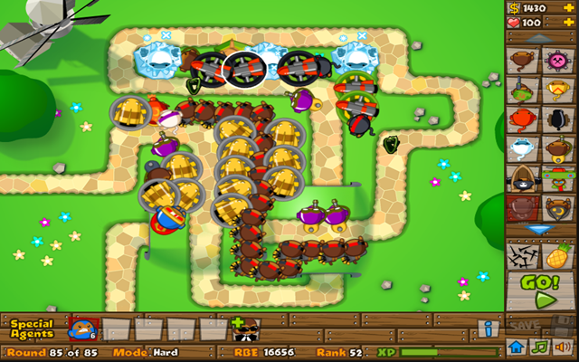 Image Bloons Tower Defense 5 hacked