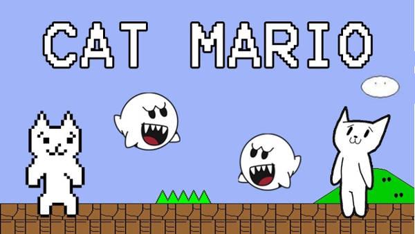 Image Cat Mario