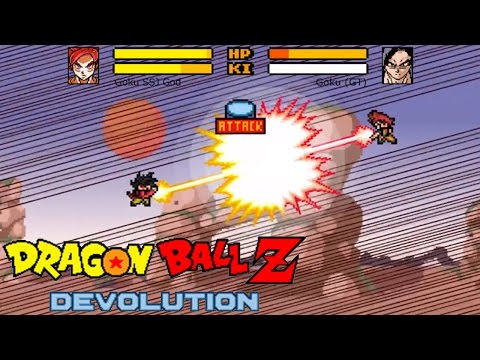 Image Dragon Ball Z Devolution - Full Version Unblocked