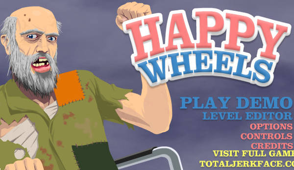 Image Happy Wheels - Hacked Version