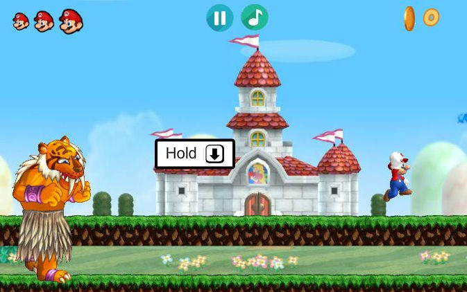 Image Mario Run and Gun unblocked