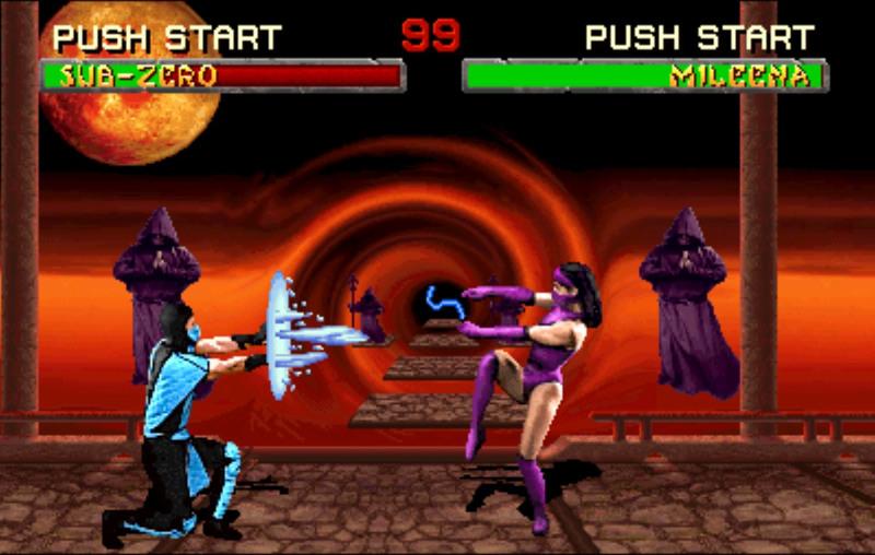 Image Play Mortal Kombat II SNES