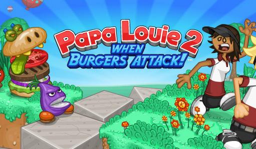 Image Papa Louie Burgeria 2 - when Burgers Attack